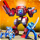 Ultimate Futuristic Battle Simulator – Robot Games