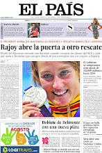 Photo: Rajoy abre la puerta a otro rescate, el Gobierno se compromete a un ajuste de 102.000 millones hasta 2014 y Mireia Belmonte consigue su segunda plata, en nuestra portada del sábado 4 de agosto de 2012 http://ep00.epimg.net/descargables/2012/08/04/a6f46b7958e21384a2795b355bae96e4.jpg