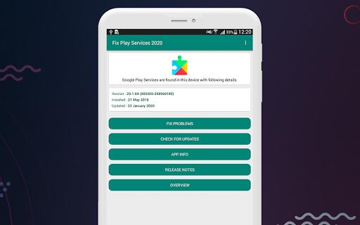 Fix Play Services 2020 (Update) 1.4 screenshots 6