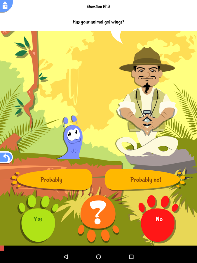 Akinator Safari- screenshot
