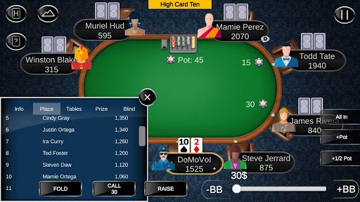 Offline Poker - Tournaments 1.10.1 screenshots {n} 4