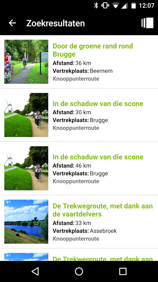 Knooppunter: screenshot