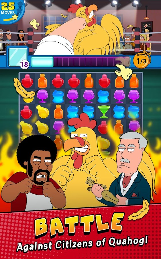Family Guy- Another Freakin' Mobile Game- screenshot