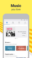 screenshot of Deezer Music Player: Songs, Radio & Podcasts