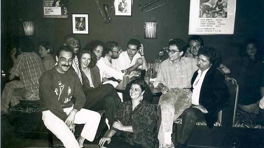 Serafín Cid, Abdul Salim,  Javier de Camba, Mariano Maresca,  Muñoz Molina, Carlos González, Lou Bennet, Ximo Tébar, Paul Stocker y Teresa Sanz.