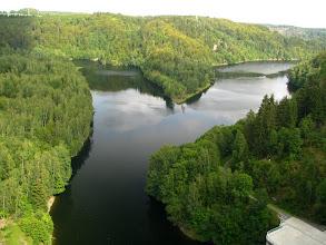 Photo: Zalew na rzece Bode