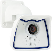 Photo: Mobotix M24 IP camera, wall mounted