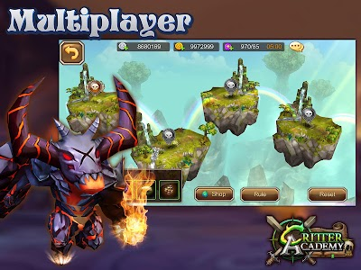 Critter Academy: Battle Wars v1.3.1 (Mod Damage/Defense)