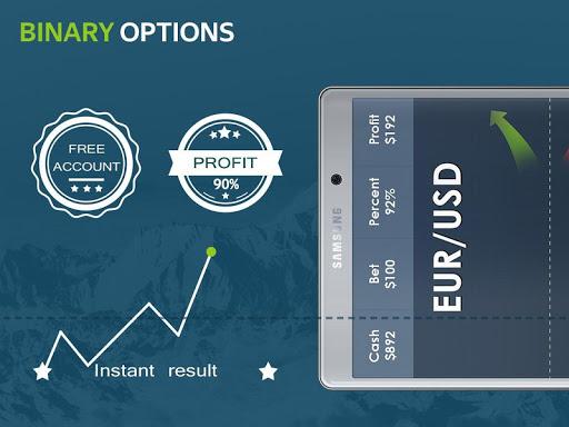 Binary options trading simulation