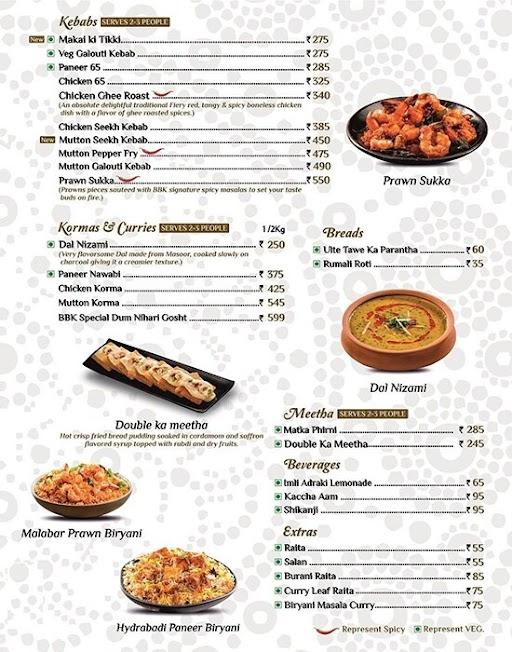 Biryani By Kilo menu 3