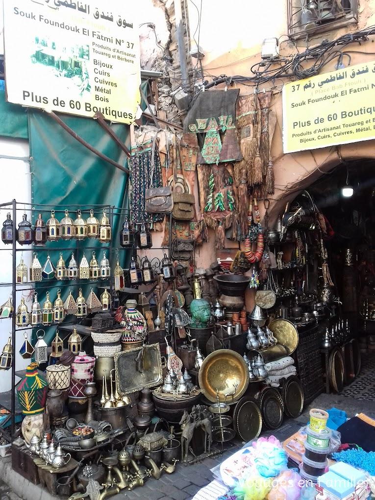 Marrakech - souks