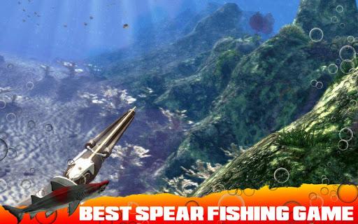 Spearfishing Wild Shark Hunter - Fishing game apkpoly screenshots 3