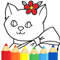 Coloring Kitty Cats