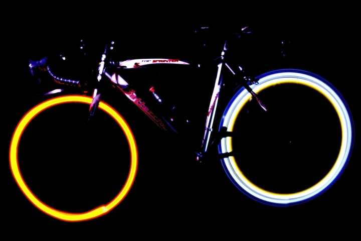Bici luminosa di gabriele82