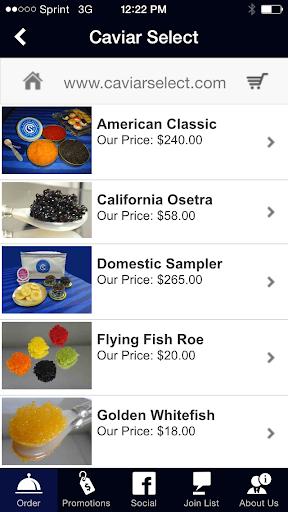 Caviar Select