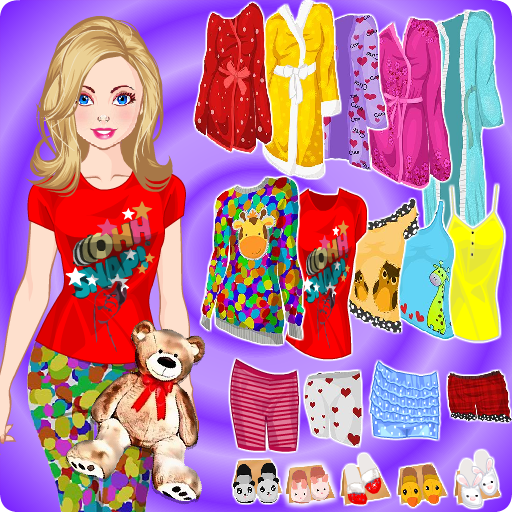 角色扮演App|人形はパジャマパーティードレスアップ LOGO-3C達人阿輝的APP