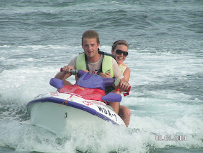 Photo: JETSKI, AABANA Beach- and Watersport Resort Malapascua, Mike & Diose´s Beachcottage. Cottage CASABLANCA ,  +63 905 263 2914-2915, www.malapascua.de Email: office@malapascua.de