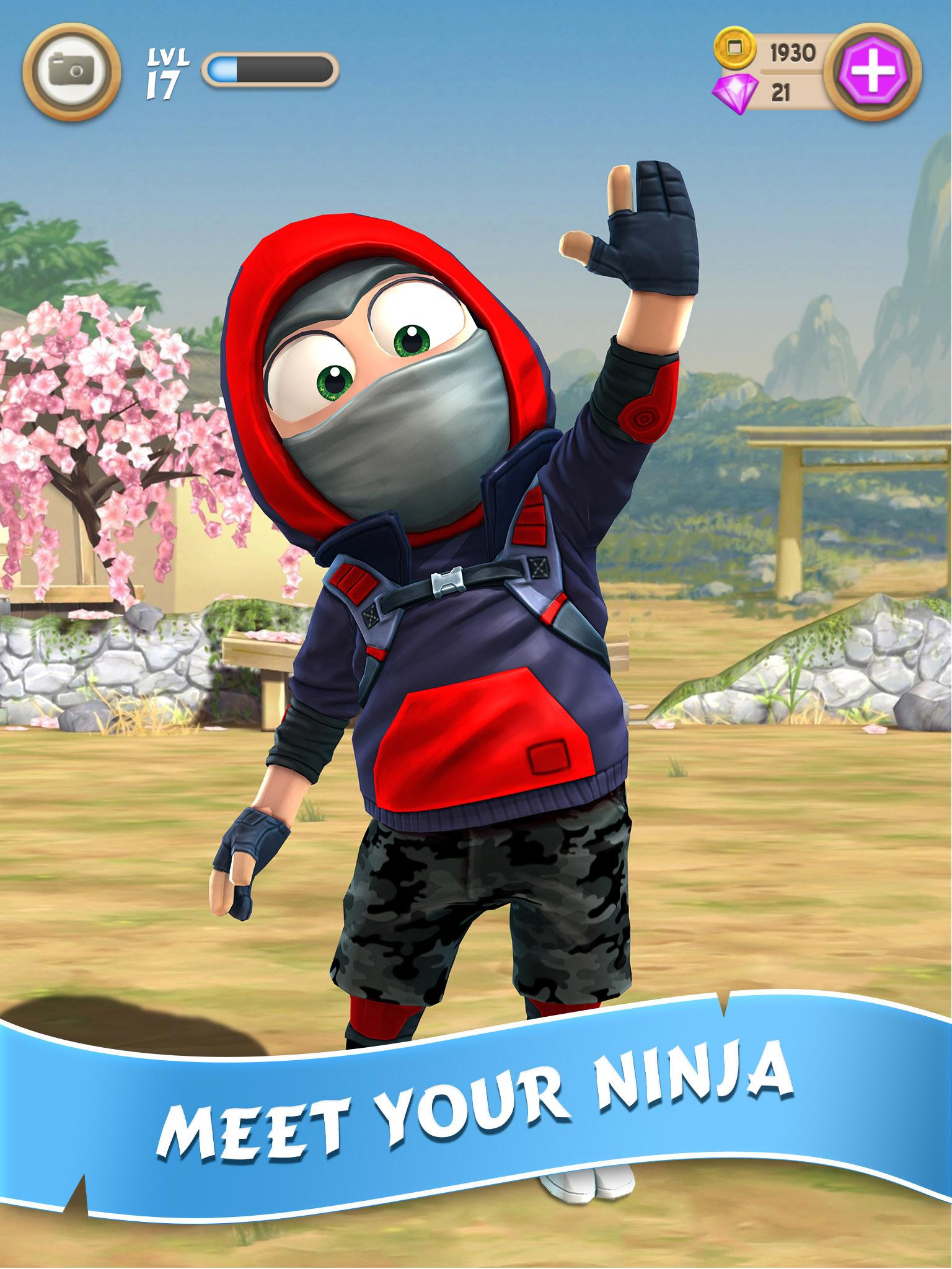 Clumsy Ninja screenshot #2