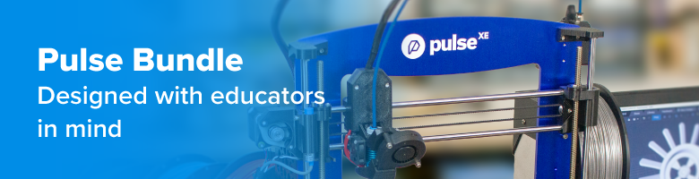 Pulse 3D Printer - EDU Bundle