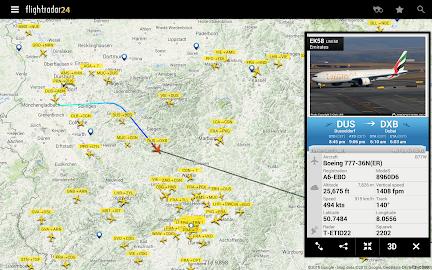 Flightradar24 - Flight Tracker Screenshot 4