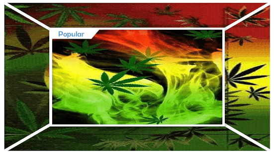 Newest Weed Live Wallpaper - náhled