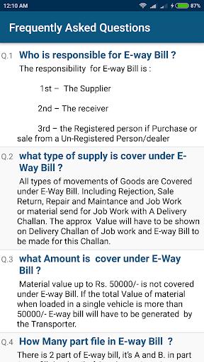 GST E-Way Bill System