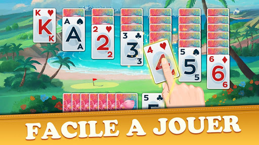 Golf Solitaire Tournament: Free & Fun Card Games  captures d'écran 1