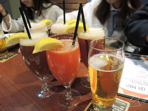 GB鮮釀餐廳 - 敦北店 ➤ 內含完整菜單 ~ 啤酒好喝 ! 從開胃菜到甜點道道美味 ! 小巨蛋聚餐好場所!