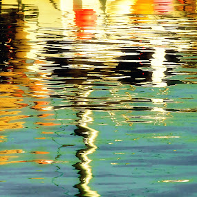 Reflection 04 by Nigel Finn - Abstract Patterns