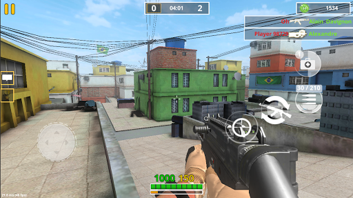 Screenshot for Combat Strike PRO: FPS Online Gun Shooting Games in United States Play Store