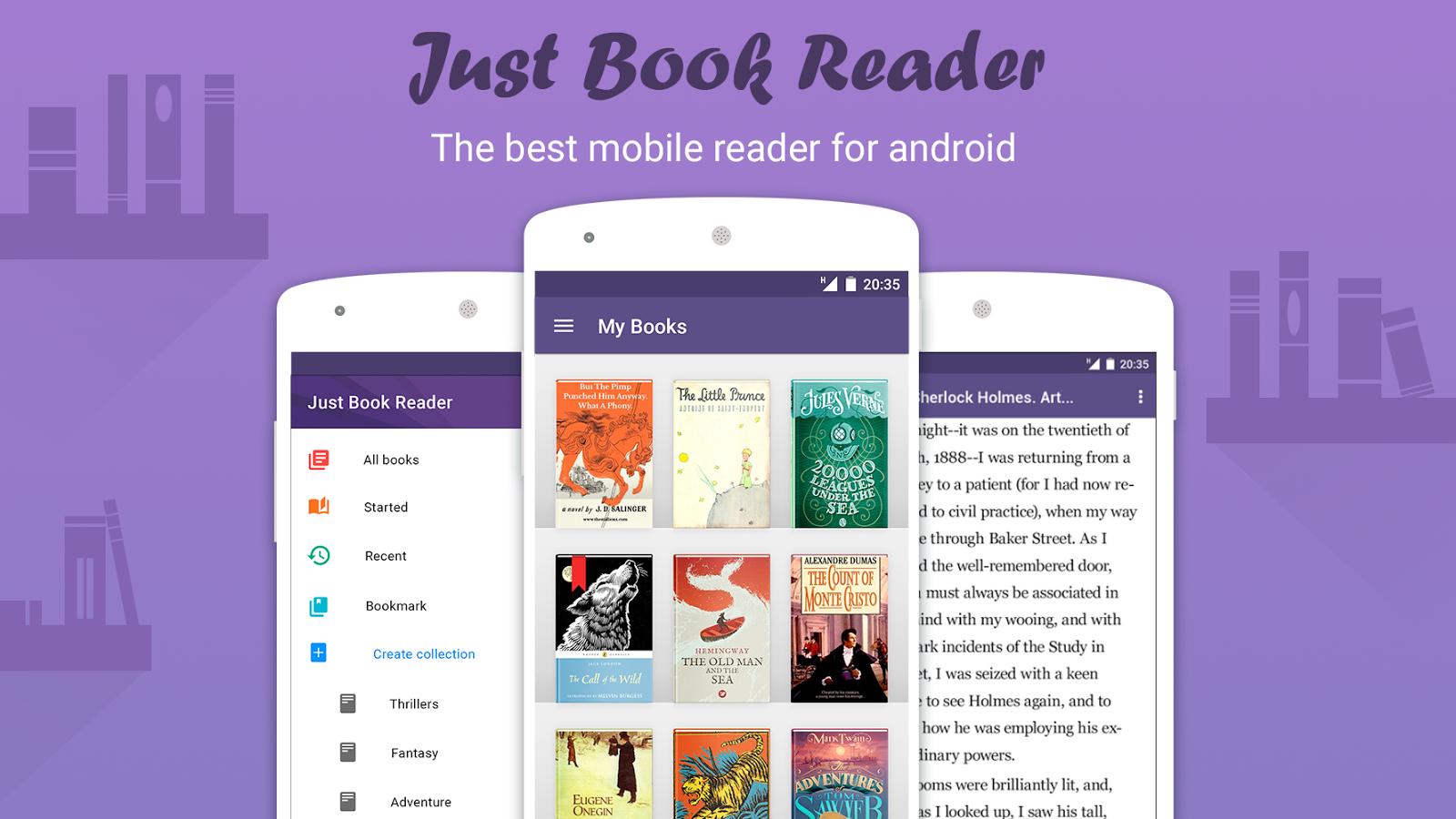 Just Book Reader (ebook) Screenshot
