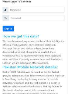 App All Numbers Data APK for Windows Phone