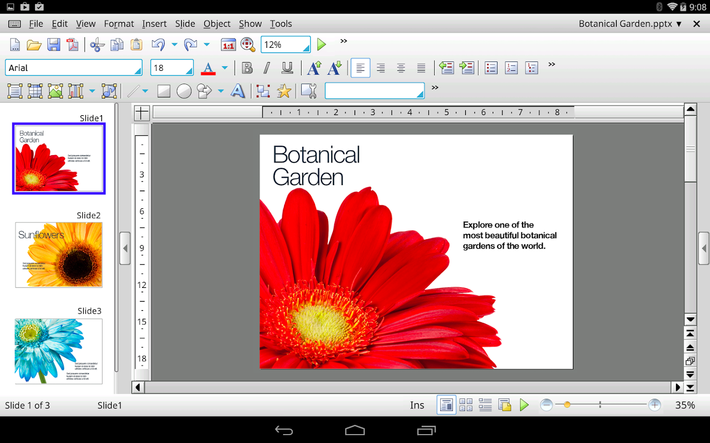 Office HD: Presentations BASIC- screenshot