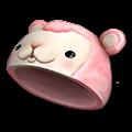 ピンク羊の帽子