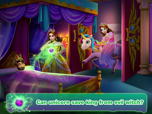 Unicorn Princess 4 u2014 Evil Witch Salon Game apkmr screenshots 2