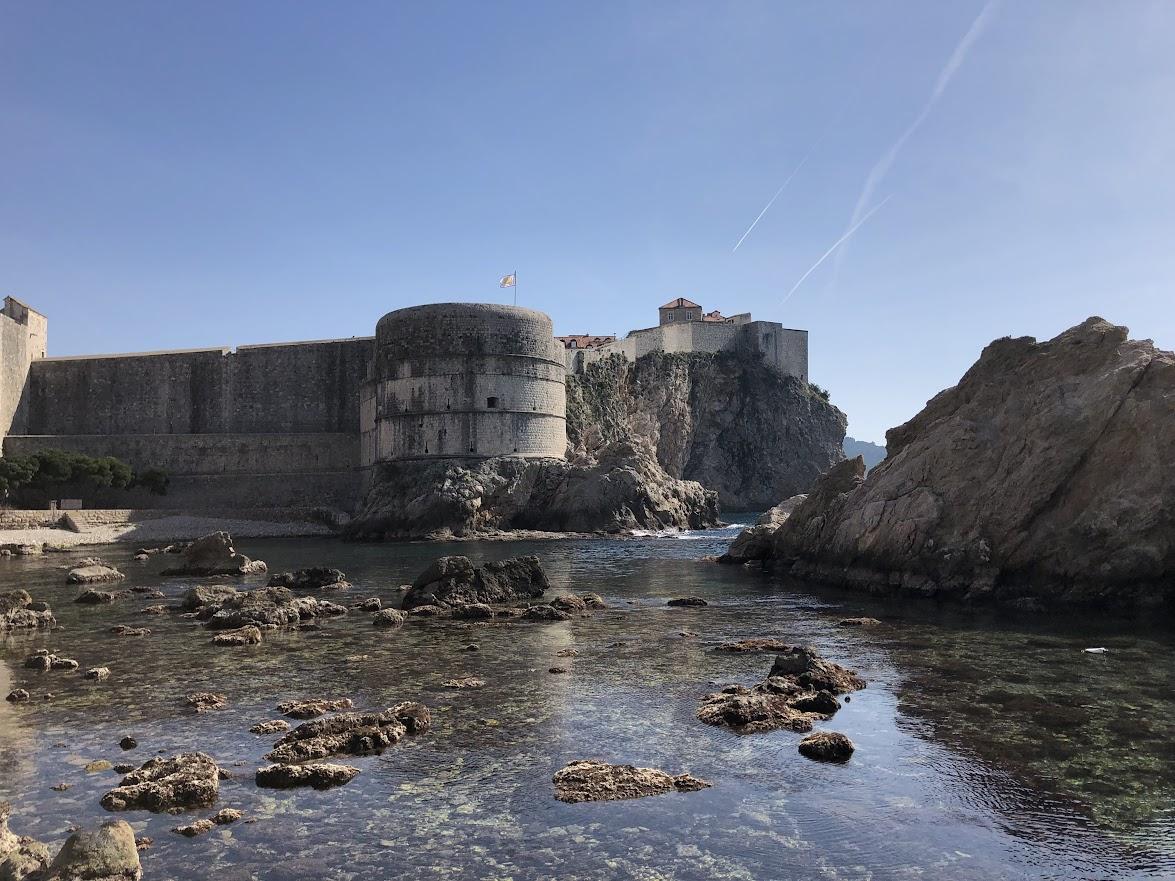 Fort Lovrijenac port