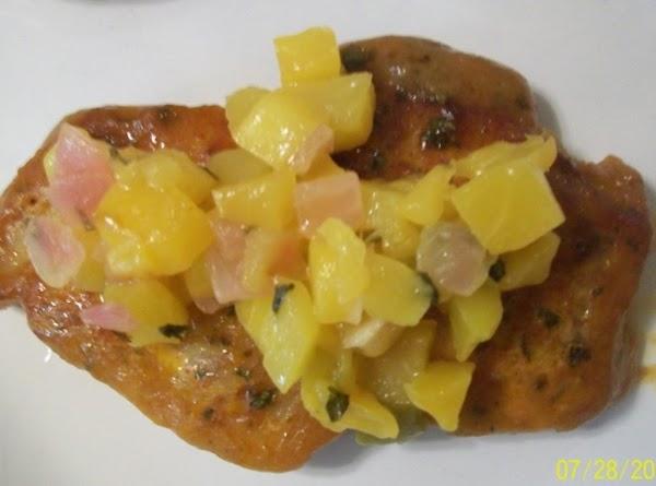Mesquite Mango Pork Chops Recipe