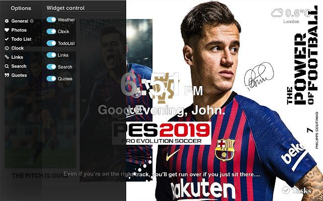 PES 2019 Full HD Wallpapers Tab Themes