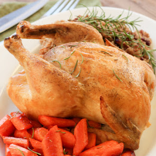 Crazy Easy Roast Chicken in the Slow Cooker.