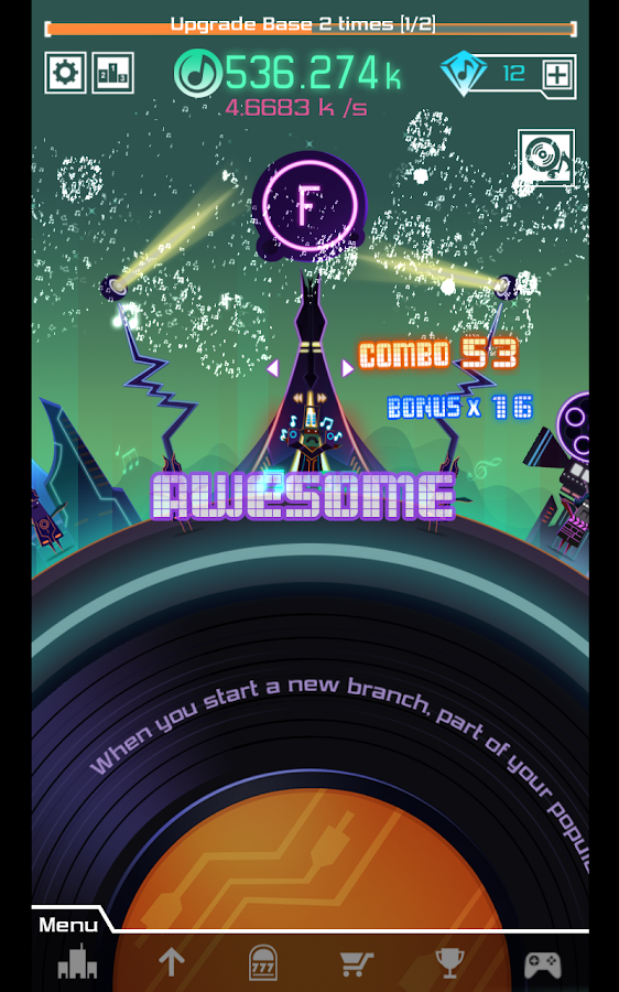 Groove Planet Beat Blaster MP3- screenshot