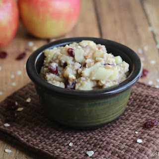 10-Minute Apple Pie Oatmeal