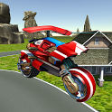 Flying Helicopter Motorcycle icon