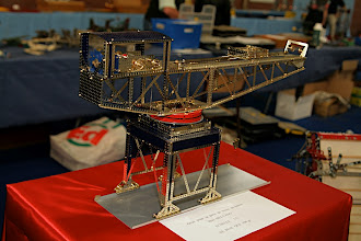 Photo: Meccano at scale 1/3, made by Albert CHARRIER