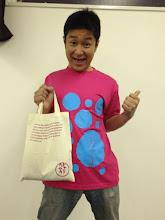 Photo: デリリオTシャツもこんな感じだぜぃ。 セットで持ったら更にキュート☆5/30