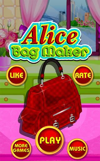 Bag Maker - Girl games