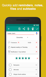 To Do Lists for Google Tasks Checklist- screenshot thumbnail