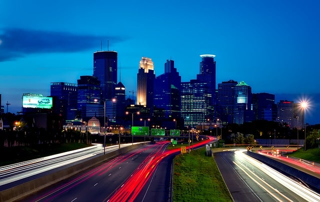 Minneapolis, MI Skyline