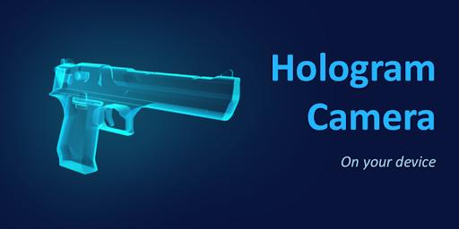 3D Hologram Desert Eagle