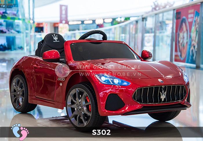Ô tô cho trẻ em cao cấp Maserati S-302 5