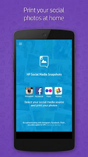 HP Social Media Snapshots - náhled